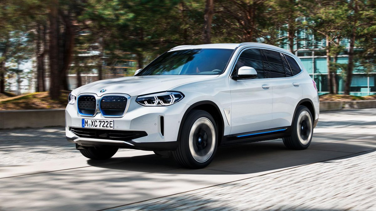 BMW's first electric SUV costs £61,900. The all-electric iX3 is on sale now, with first deliveries in summer 2021 → https://t.co/fFQvnjSOjN https://t.co/55zNqNPoas