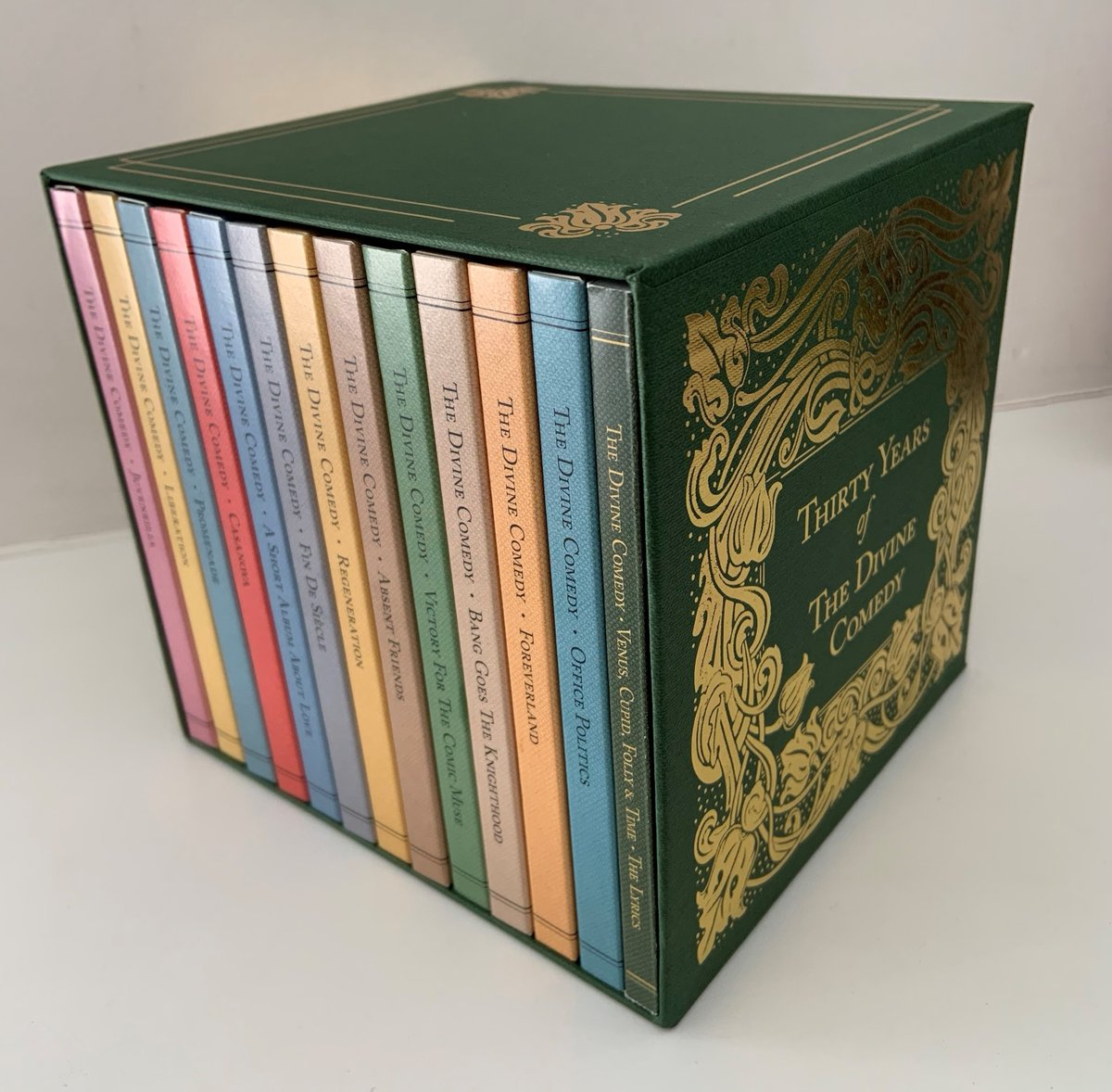 Spotlight on 'Venus, Cupid, Folly & Time' CD boxset, released 9th October - thedivinecomedy.com/news/spotlight… Pre-order at our webstore: thedivinecomedy.tmstor.es #TheDivineComedy30 #TheDivineComedy #Boxset