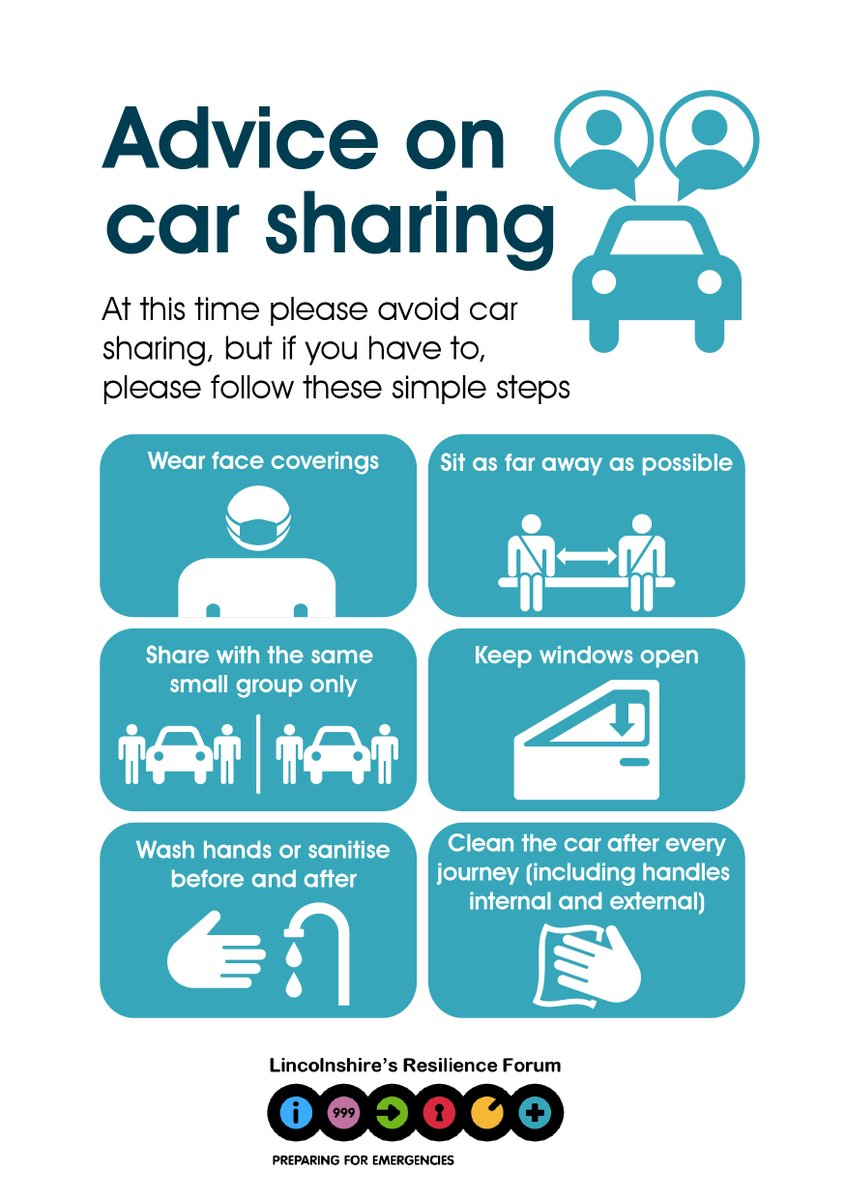 Do you car share for work? If so, please follow these steps where possible: https://t.co/FIEQ6hS719
