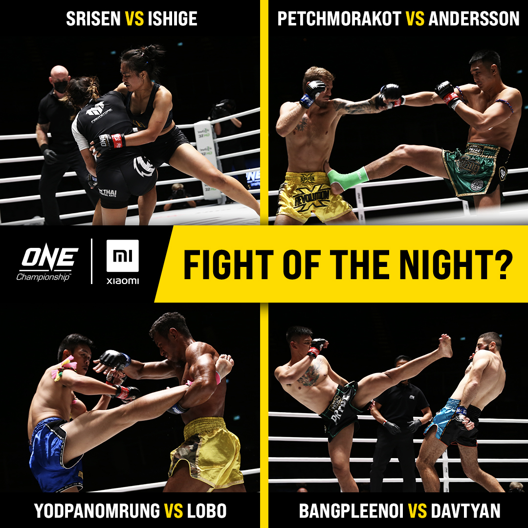 What's YOUR pick for Xiaomi Fight of the Night? 🤔 #ANewBreed3 #WeAreONE #ONEChampionship https://t.co/MxTE8xYYp0