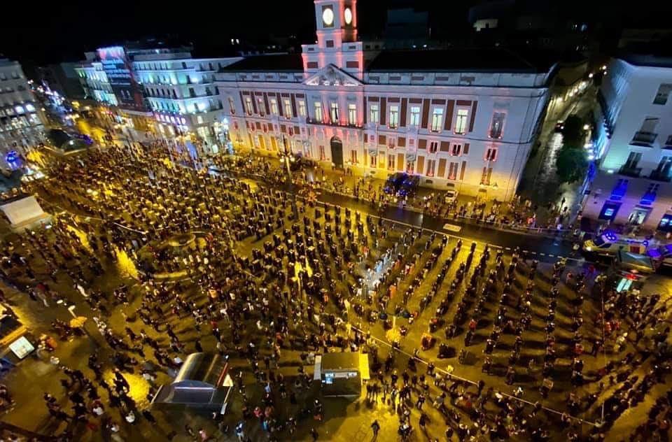 Anoche desde #Puertalsol 👀👀 https://t.co/BSsXvKBT22