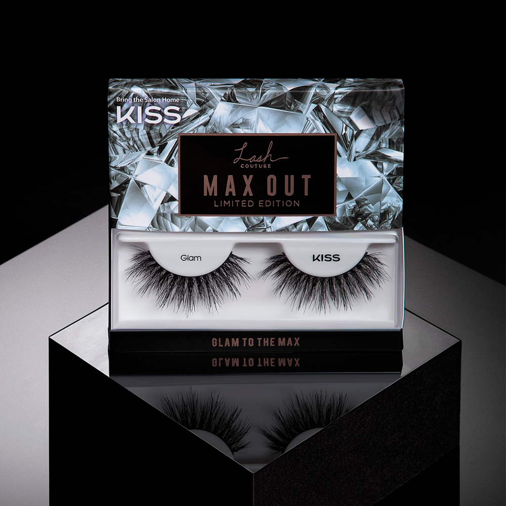 Create ultra-glam looks with FULL VOLUME & DRAMA with new KISS Max Out Limited Edition lashes. Find the lashes shown in style 'Glam'  at Walmart, Walgreens, CVS, UltaBeauty & https://t.co/sNZ2LSb3d0 #KISSProducts #KISSUSA #KISSLashes #MaxOutLashes #DramaticLashes https://t.co/M4W9Vpr0k6