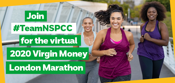 Calling all runners, joggers and walkers! 👟👟 Take on the virtual London Marathon for #TeamNSPCC and help us still be here for children. Be part of the iconic 40th race by completing 26.2 miles on Sunday 4 October on a course of your choice. Sign up here: https://t.co/VAfHWp8JUX https://t.co/QIPPGBJ6mw
