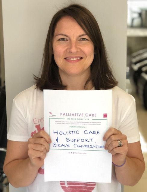 What does palliative care mean to you? For @publichealthni AHP Consultant, Mo Henderson, it means a brave conversation  around hollistic care and support #pallcareweek @aiihpc https://t.co/CIy24sczeU