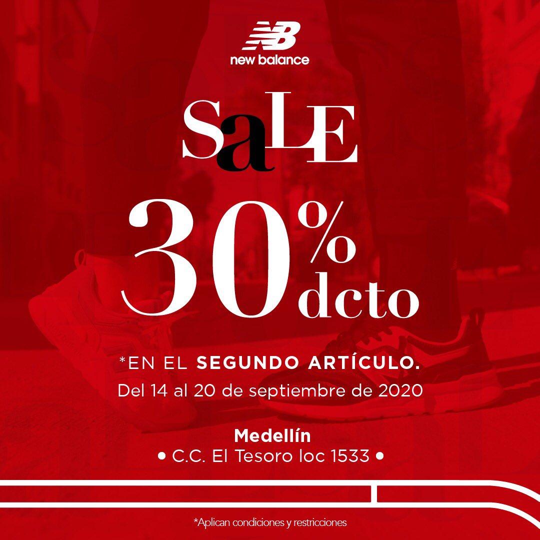 #Sale #AmorYAmistad | ¡Celebra con el -30% OFF en el segundo artículo del 14 al 20 de septiembre!   Te esperamos en nuestra tienda de 📍#Medellín en el C.C @El_Tesoro, local 1533.  (*TyC: https://t.co/TmeNhrnUti) https://t.co/KfAAPKwxsM