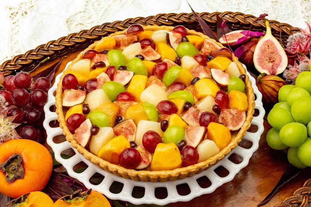 キル フェ ボン 栗・さつま芋・ぶどうなど秋限定タルト、オバケを飾ったカボチャのハロウィンタルトも -