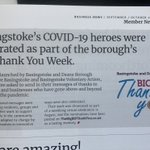 Image for the Tweet beginning: Great to see #TheBigBDThankYou in