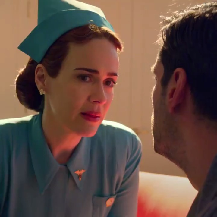 Ratched is now on Netflix and Sarah Paulson is A-C-T-I-N-G!