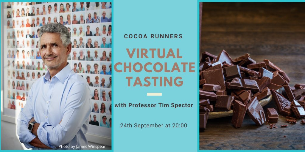 I will be joining @CocoaRunners next Thursday, 24th September for a virtual chocolate tasting whilst discussing my book Spoon-Fed, #microbes and #chocolate . What is not to like. You can register and join me via this link: https://t.co/dAeaR0uhFC https://t.co/TxNbGTJA5z