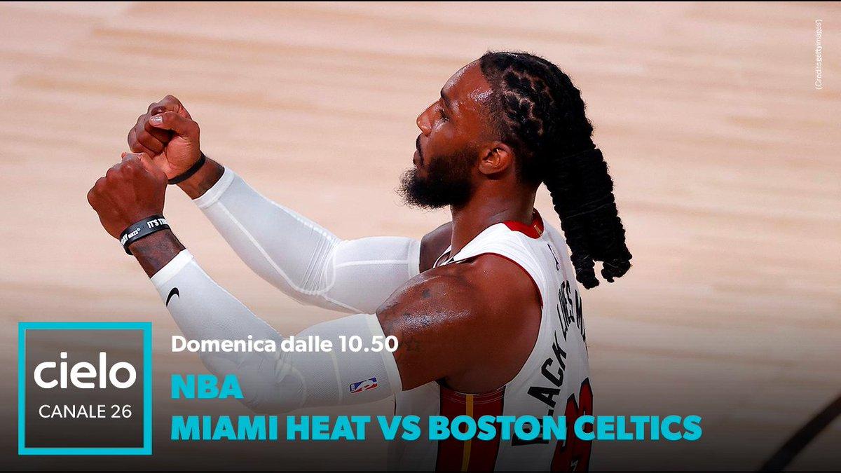 Siamo arrivati agli episodi finali di questo lungo percorso e la sfida non si è mai fatta così dura. #NBA conference finals vi aspetta domani dalle 10:50 su Cielo, in campo si sfideranno Miami Heat VS. Boston Celtics. https://t.co/cSAwxfSzY1