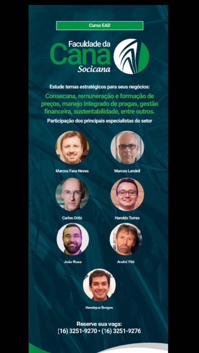 Faculdade da Cana Socicana. Estude temas estratégicos para seus negócios. Iniciativa Solidaridad e Socicana.  #sabriagro #socicana #solidaridad #herbicat #geoagri #trimble #mepel #compassminerals #dpaviacao #kgf #oxiquimica #agrotop #doprobesafe #agropocket #nuffieldag https://t.co/tkJp9TTMze