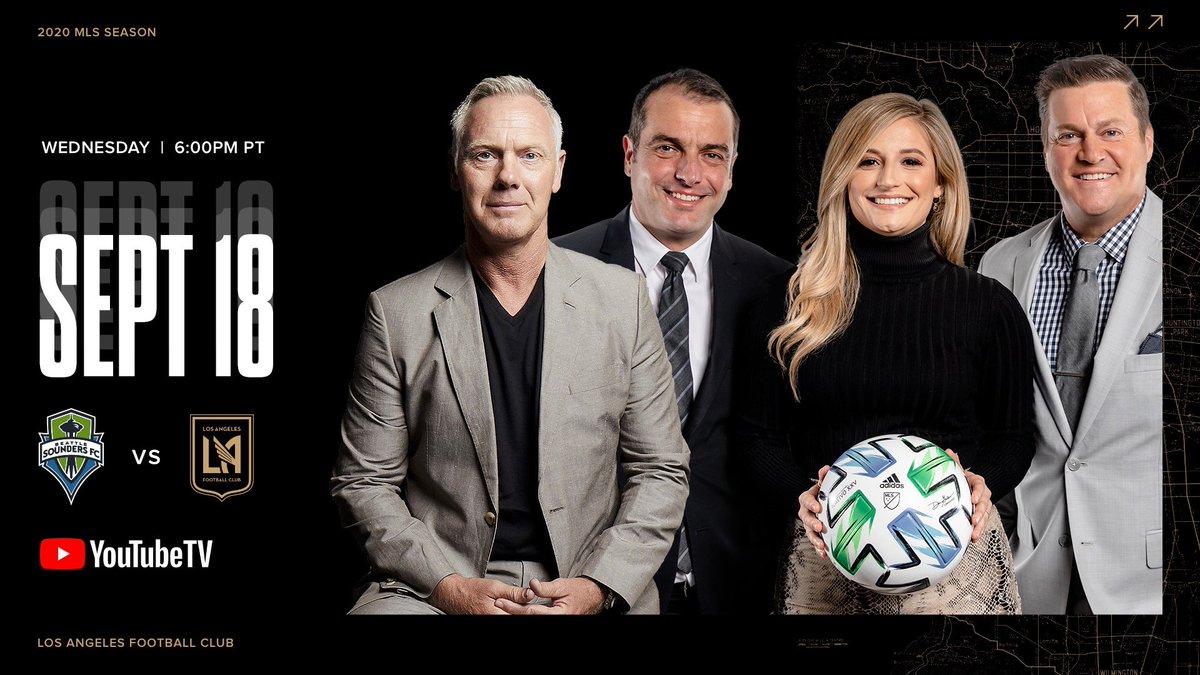 Looking forward to calling the @LAFC @SoundersFC @MLS with @MaxBretosSports @mrogondino 👍🏻⚽️ https://t.co/hqBJol9CuL