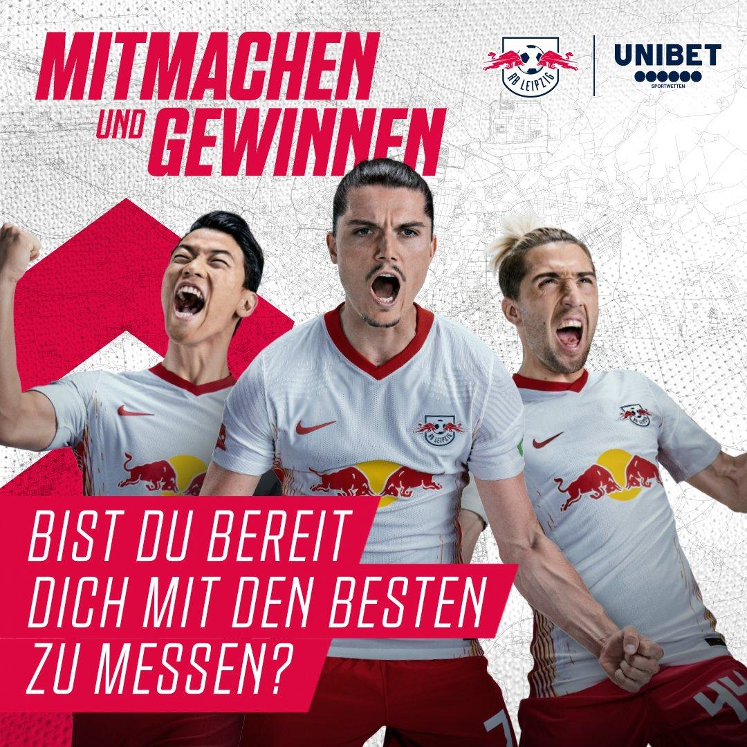 #RBLeipzig sucht gemeinsam mit #Unibet den ersten #RBL-Tippkönig 👑   Getippt wird die #Bundesliga-Saison 2020/21 ⚽   Neben unendlichem Ruhm der Kicktipp-Community winken Preise, die jedes RBL-Herz höherschlagen lassen 🔴⚪️   ➡ https://t.co/dhjguO36lH   #DieRotenBullen #Leipzig https://t.co/iO8PLTCYeA