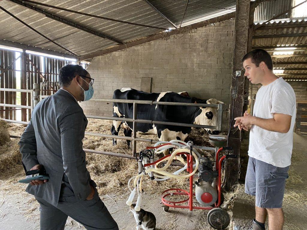 🐄 La ferme pédagogique de la Mantellerie à #SaintPompain propose aux #enfants et aux adultes de redécouvrir les #animaux et notre #environnement. Un parcours & des ateliers essentiels pour mieux comprendre le métier d'agriculteur et l'origine de notre #alimentation. 🌱#Gâtine https://t.co/TfYoGBB1dl