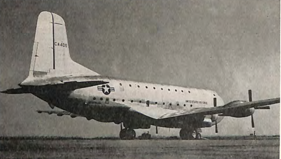Happy 73rd birthday, @USAirForce! Join us in celebrating and recognizing the brave Americans who defend our nation. #FlyFightWin #USAF73  📷: Douglas C-124 Globemaster, AIA's 1949 Aircraft Year Book #AeroWeek https://t.co/nuevB70gZk