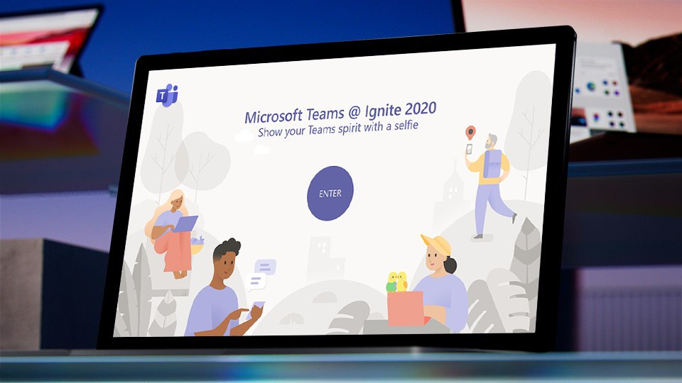 Get ready to enjoy #MSIgnite! Share your #MicrosoftTeams spirit by using our virtual photo booth, and tag us. We'll be on the lookout to reshare! https://t.co/1cXwm81pcC https://t.co/6hiqgC691p