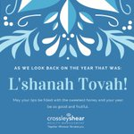 Image for the Tweet beginning: Happy Rosh Hashanah to our