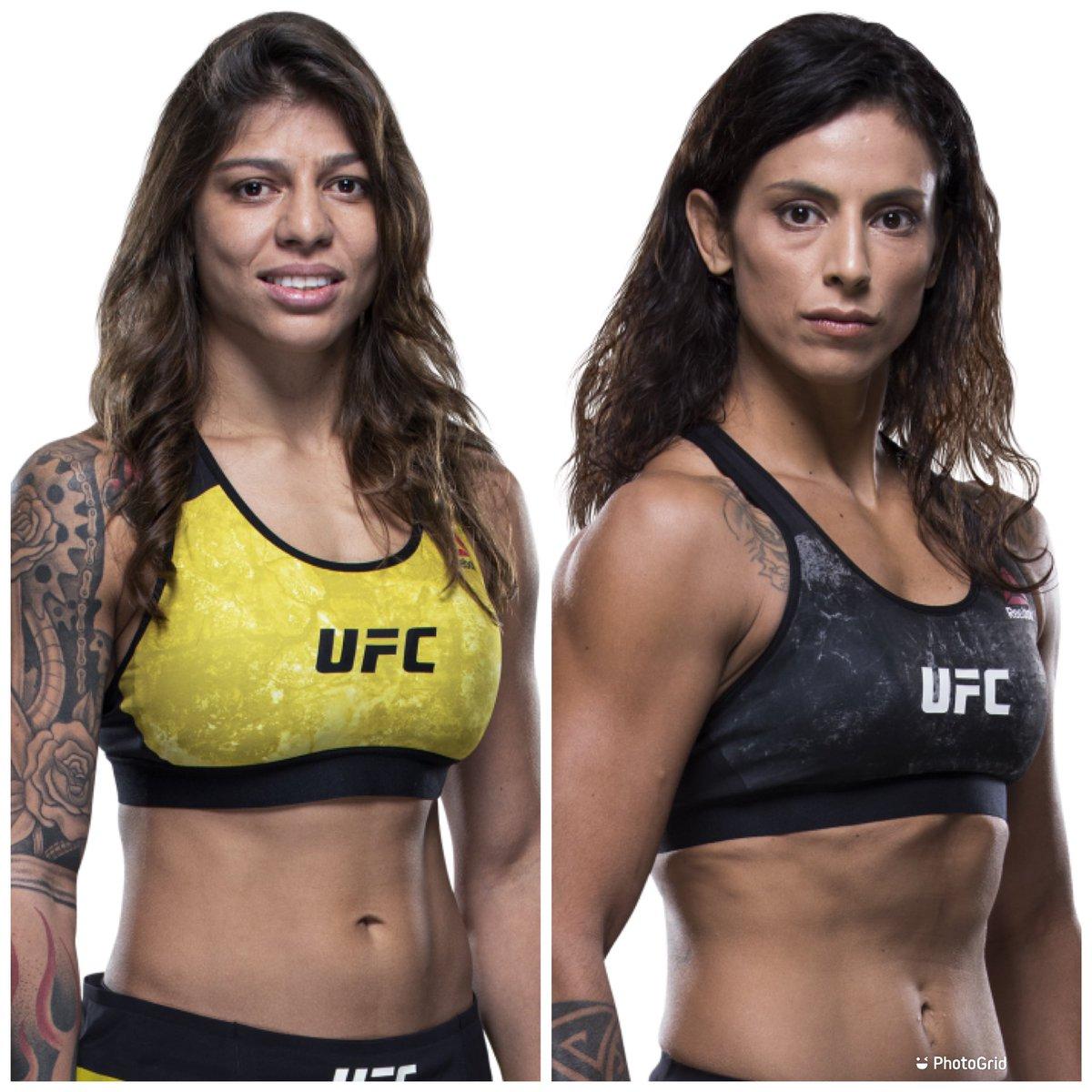 👊👊 This Saturday the 19th 👊👊 Flyweights Mayra Bueno Silva and Mara Romero Borello will clash on the Prelim Card. LIVE on ESPN+ #UFCFightNight #UFCLasVegas #Mayrabuenosilva #mararomeroborello #womensmma #wmma #combatsports #ufcvegas https://t.co/wioJNcxj4U