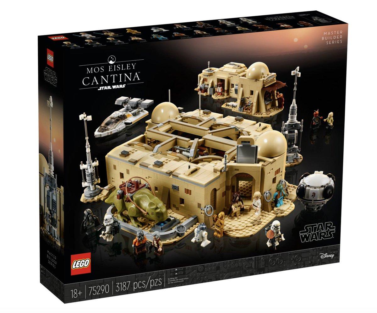 La cantina de Mos Eisley: no encontrarás otro Lego tan lleno de maldad y vileza #juegos   por @Alvy https://t.co/xph3k6cZ6J https://t.co/LLkwEWp2vS