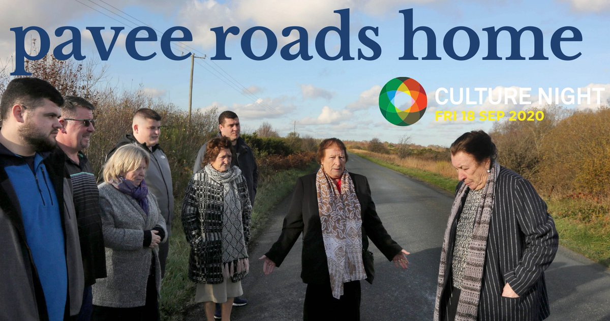 Delighted to launch #PaveeRoadsHome storymap online NOW for #CultureNight2020 - https://t.co/toeIX1SFon https://t.co/cVzCBbeio4