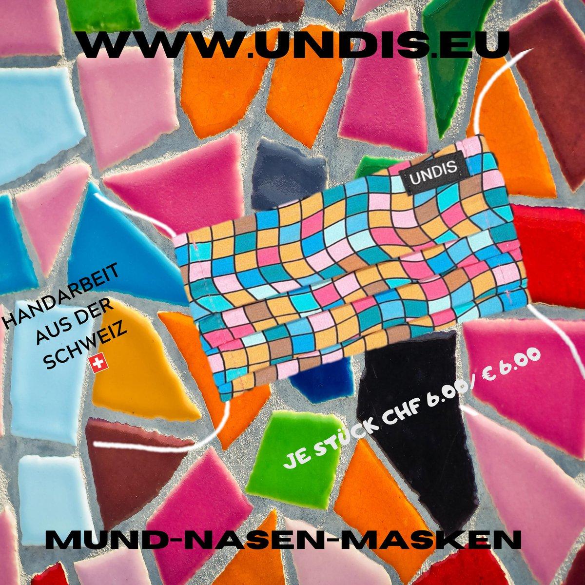 https://t.co/ET3iiMeNfi Hier findest du eine Auswahl an hochwertigen, waschbaren und wiederverwendbaren Mund-Nasen-Schutzmasken für Groß und Klein. #undis  #Maske  #schule #Maskenpflicht #schweiz #österreich #wien #Corona #virus #MundNasenSchutz #COVID19 #deutschland #bunt https://t.co/w9XD3tsPGb