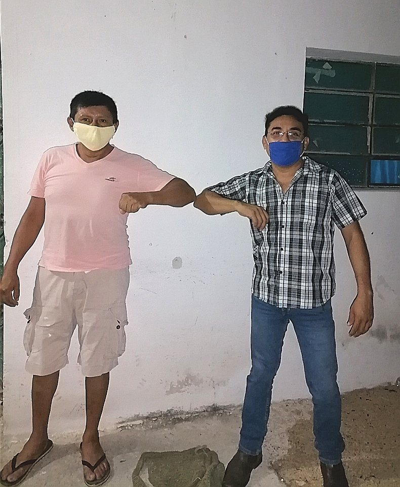 En 2010 Juan vivía en Cancun por trabajo, me dice que su familia le contaba lo bien que le iba a #Chicxulub con el #Pan en el Ayuntamiento. Hoy esta listo para lidiar una batalla y regresar los #GobiernosDeAccion para que nuestro pueblo mejore. #AccionPorChicxulub https://t.co/VtUFW7tUTX