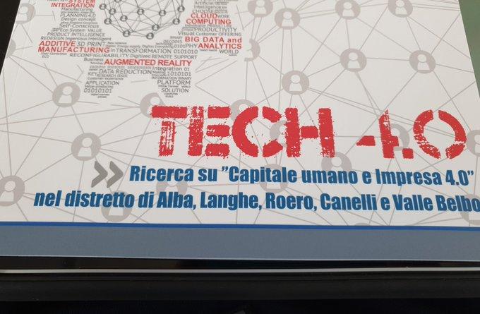 Siamo a  con  per analizzare come il territorio sia un esempio di sinergia, ricerca, innovazione....