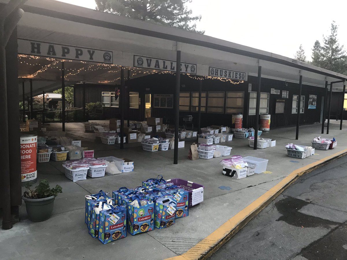 Happy Friday! Fresh air and fresh materials ready for pick up 8 a.m. - 5 p.m. today! Bins for food donations are also out for the last day as part of #bekind21 challenge, have a great day! #hvehuskies #lafsdk8 #lovelafayetteschools @LPIEpower https://t.co/E0aHykFzDQ