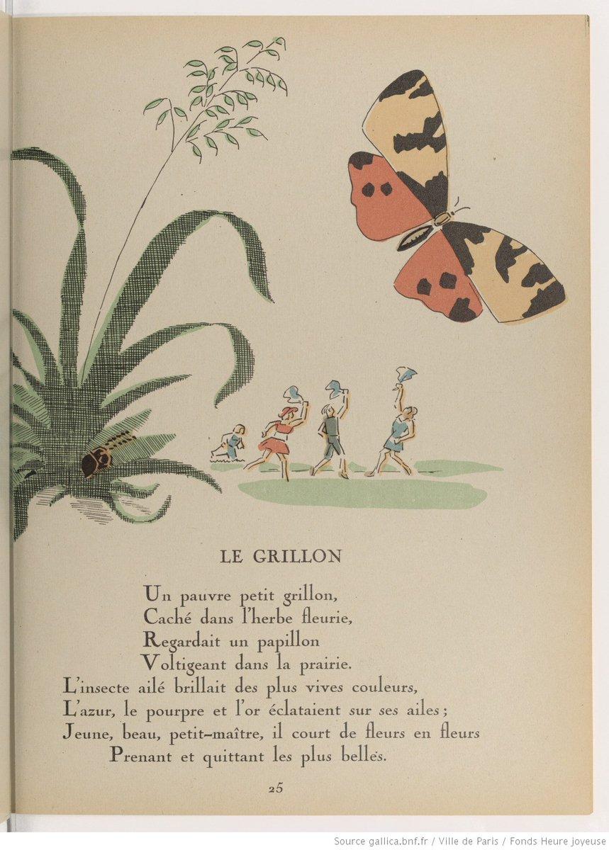 Fables in the park:  Les Fables de Florian, by Jean-Pierre Claris de Florian ..........1948...https://t.co/aK4LmhpG8W     #fables #childrensbooks https://t.co/SI7yHPsphp