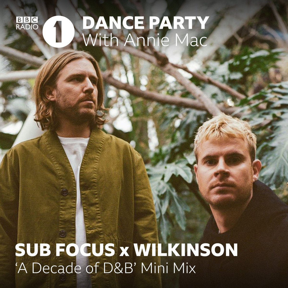 Sub Focus & Wilkinson - A Decade of D&B Minimix (2010-2020)  Tonight from 7pm with @AnnieMac on @BBCR1! https://t.co/4KMmewruxu