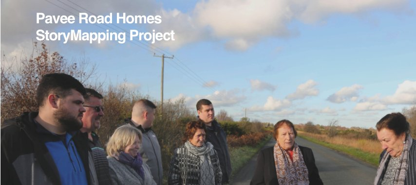 It was a great pleasure working with Pavee Roads Home on this project in unveiled today as part of Culture Night. I think you'll really enjoy their #storymapping and #oralhistories in the Pavee Road Homes StoryMapping Project. @Maynoothgeog @PaveePoint   https://t.co/G3KcHsFekz https://t.co/uhgBV3aFNU