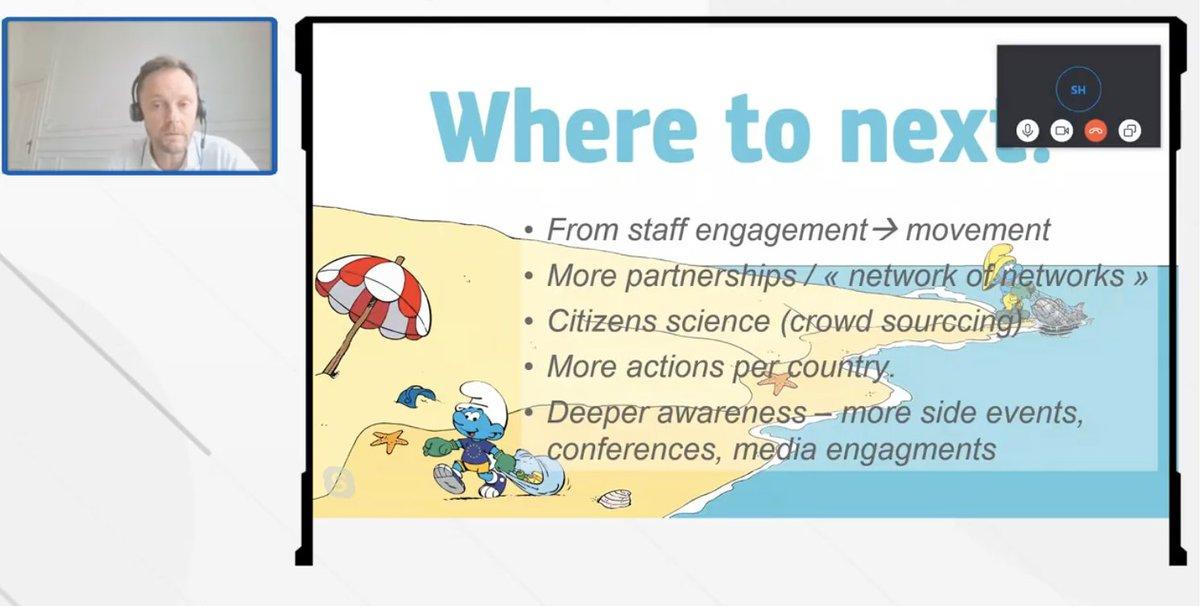 """""""Es importante limpiar las playas y que hagamos lo que decimos que vamos a hacer (""""Walk the talk"""") pero también es importante que hagamos algo más que sólo limpiar las playas, como no sobre utilizar los recursos y manejar la basura de forma correcta"""" Emil @EU_MARE #EUBeachCleanup https://t.co/WefxPVtcZI"""