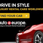 Image for the Tweet beginning: Autoeurope Car Rentals at GoNOMAD