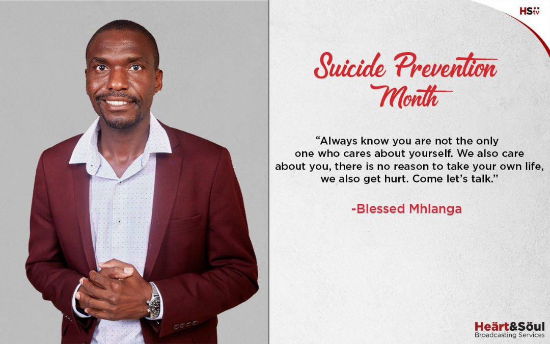 It is sad that a friend journalist and elder Godwin Muzari took his own life. We all have our lows in life. But it's no reason to die. @HStvNews we care.