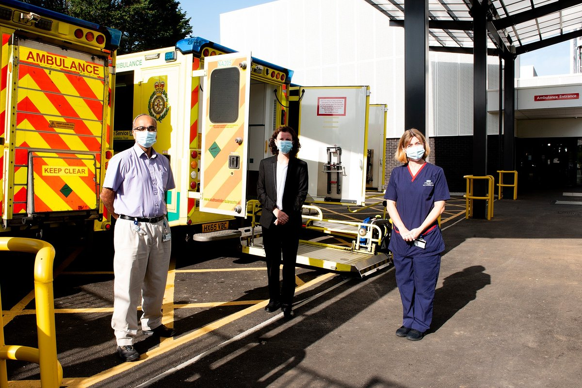 We were delighted to welcome @AnnelieseDodds, Oxford East MP and Shadow Chancellor, to the John Radcliffe Hospital today.   As part of the visit, our staff showed Anneliese the hospital's recent Emergency Department expansion. https://t.co/L0hxMXfYVl