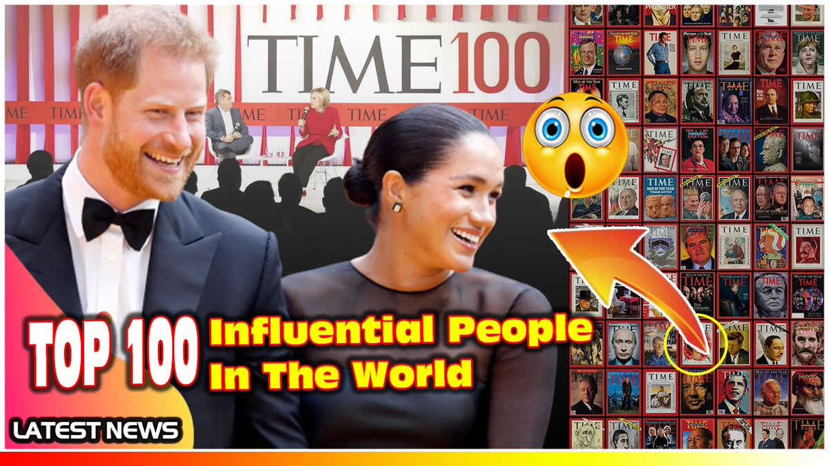 WOW! Harry and Meghan TOP 100 Most Influential People In The World In Ti... https://t.co/zTLWaD7sXB via @YouTube #PrinceHarry #MeghanMarkle #TIME100 #ABC https://t.co/fyQxhCG4gb