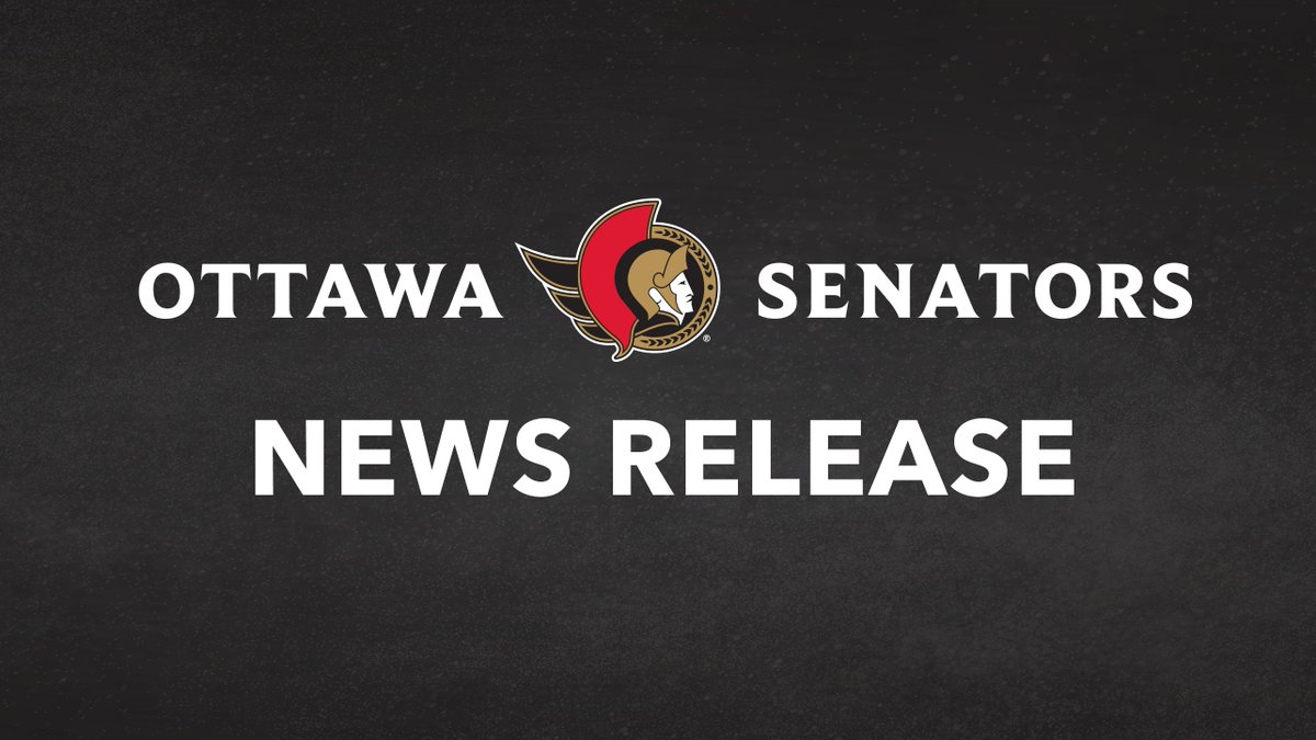 News Release: The #Sens have unveiled the teams new primary logo: ottsens.com/32HLTqN