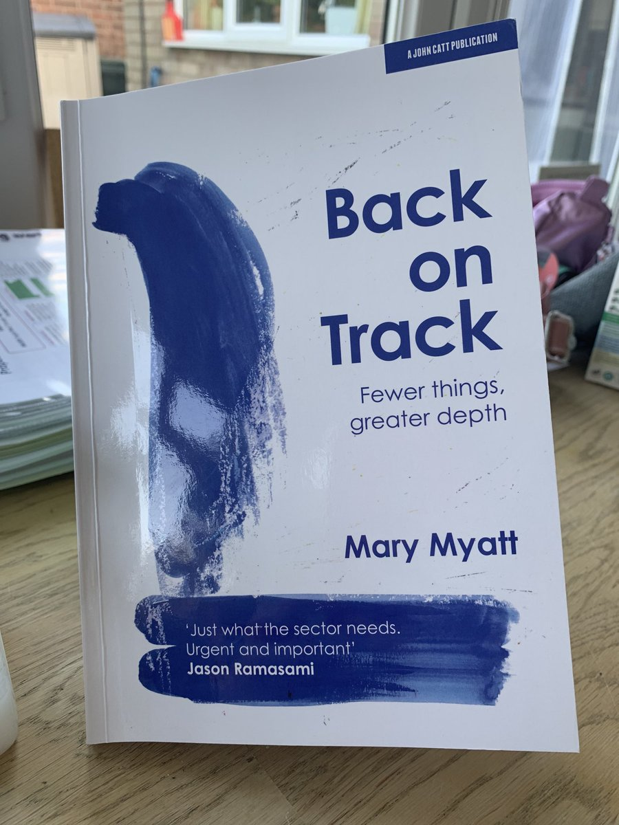 What a welcome early delivery for the weekend from ⁦@MaryMyatt⁩ and ⁦@JohnCattEd⁩