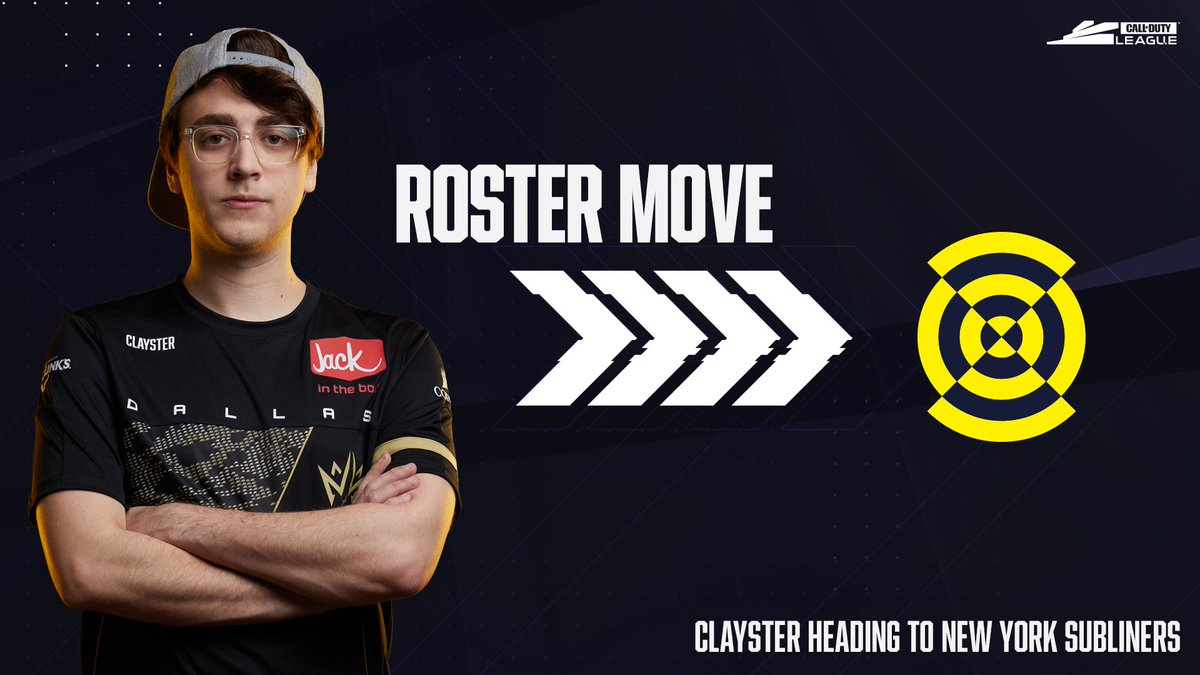 The empire state of mind: @Clayster is taking his talents to the New York @Subliners for #BlackOpsColdWar!