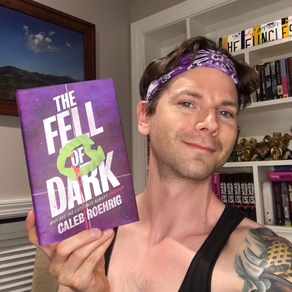 If you wish I would just shut up, you're outta luck! I'm going live on Instagram tomorrow (Saturday the 19th!) at 2pm Eastern to answer your (spoiler-free!) questions about THE FELL OF DARK, and maybe even do a little reading from the text! See you there...