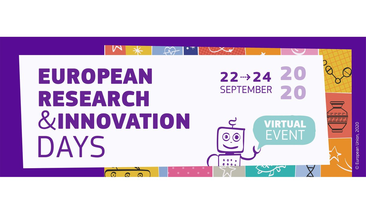 🙌 We will be following the #openscience related sessions at the virtual 2020 #RiDaysEU !   Check them out and join us 🧐 https://t.co/y2yfATHeqw  #openscience #openinnovation #EOSC https://t.co/br2OpLpcNd