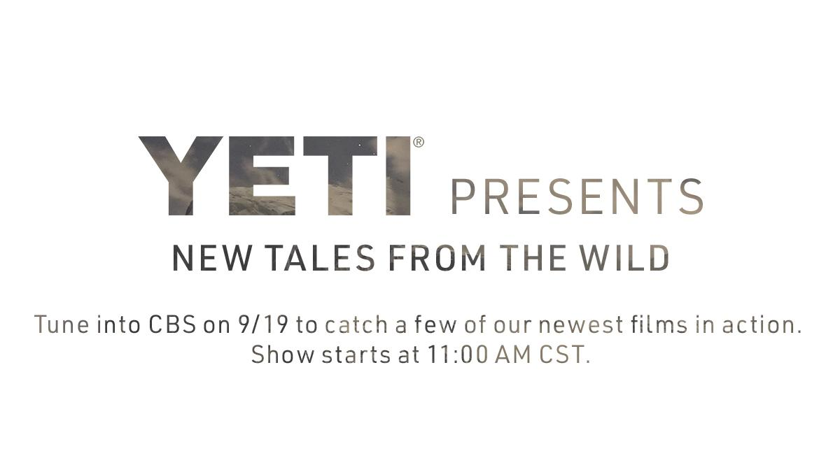 If you missed the premiere of our latest wild-inspired films, good news, we're reliving the experience at 11:00 AM on CBS this Saturday (9/19). https://t.co/0SdYiz4dGJ