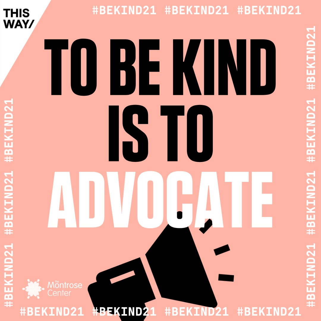 Advocating for others is an act of kindness! Today's #BeKind21 act is signing online petitions for causes you care about. It's SO easy and usually takes less than a minute. Whether it's racial justice, LGBTQ+ rights, or climate change, find something you care about and get going! https://t.co/CXqOs7P2K9