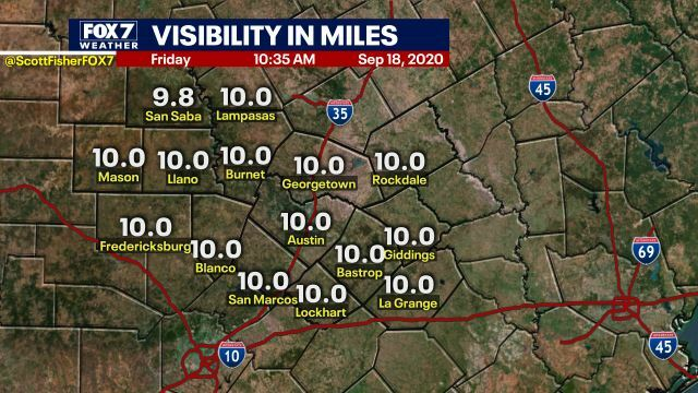 Scott Fisher Says: Local Visibilities. #Austin #Texas #Weather https://t.co/wLwLxSS058