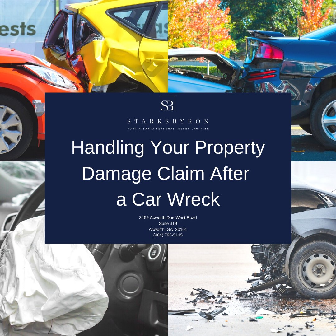 Have you read our recent blog post? It's all about how to handle your Property Damage claim after a wreck #starksbyron #disbursementday #fivestar #review #lawyer #law #personalinjury #carwreck #acworth #kennesaw #georgialaw #accidentattorney #atnalta #policylimits #atl #acworthga https://t.co/8CNp3lxEOW