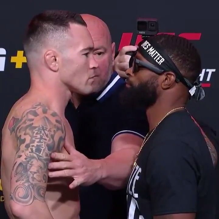 Many words have been exchanged over the years and now @ColbyCovMMA and @TWooodley will finally have their opportunity to back them up 🗣  Stream #UFCVegas11 Saturday, Sept. 19 on #ESPNPlus https://t.co/rwrz81AF09