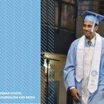 Image for the Tweet beginning: 🙌🏽 #UNC Hussman graduate Kevin