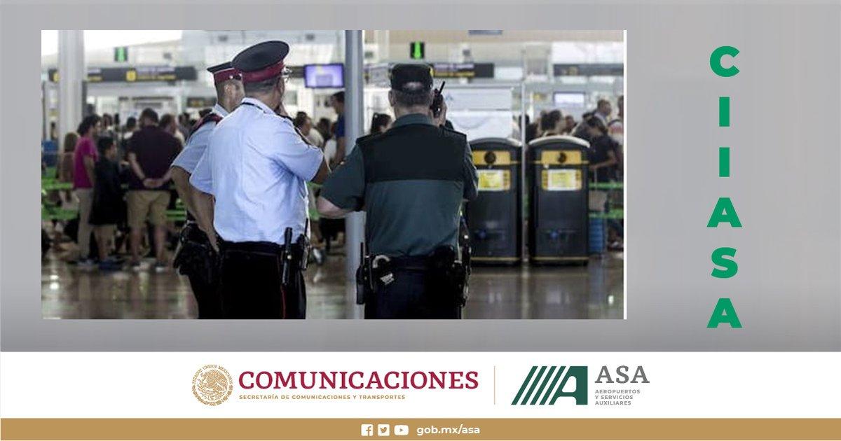 Inscríbete a nuestro curso #AVSEC Instrucción Básica para el Personal Responsable de la Seguridad de Aeropuerto (Básico #OACI), programado del 16 al 31 de octubre. Consulta más información y requisitos en https://t.co/LUBSiK1wfu #CIIASA. Cierre de inscripciones octubre 1 #México https://t.co/yAOFfMbJhX