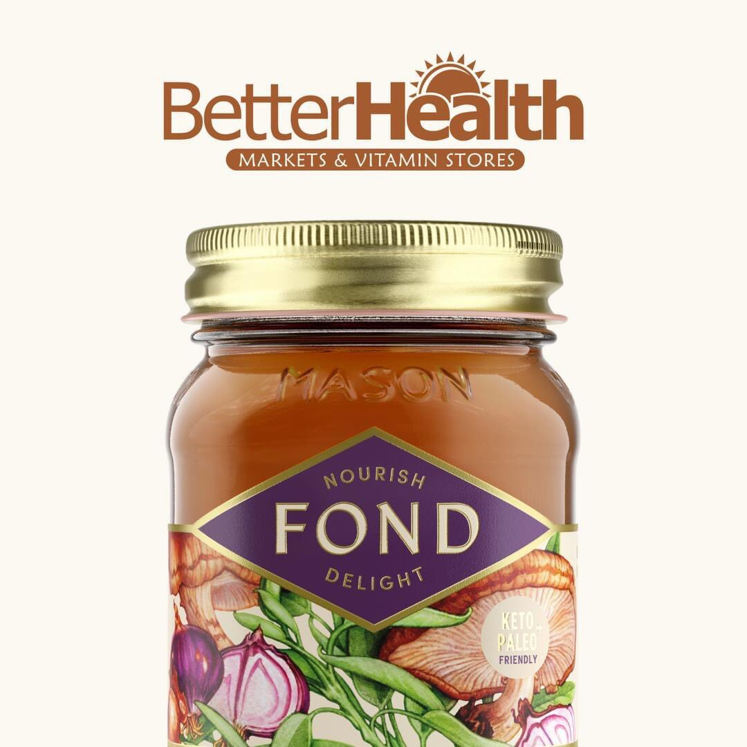 Better than homemade with gourmet flavors, you won't find anything else quite like #FONDBoneBroth   Through the end of September, FOND will be discounted at all @BetterHealthSto's in Michigan!  #bonebroth #betterhealth #guthealth #michigan #healthy #wellness #nutrition #happygut https://t.co/RUjcweLVwf