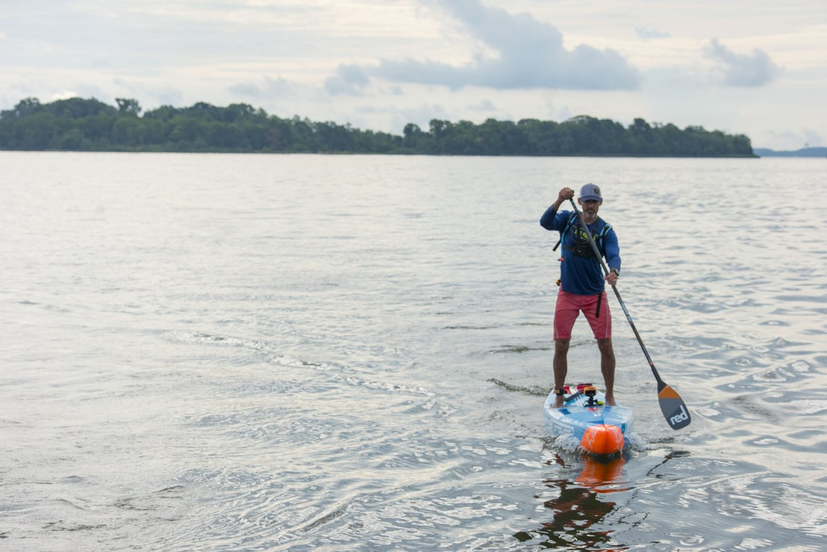 We're proud to support the #BayPaddle and cheer-on Chris Hopkinson, in the first-ever attempt to #SUP the length of the #ChesapeakeBay in support of @oysterrecovery. His ambitious, 9-day, 240-mile journey began today in Havre de Grace. https://t.co/nyOsalqyz4 @baypaddle https://t.co/Dme07enOUz